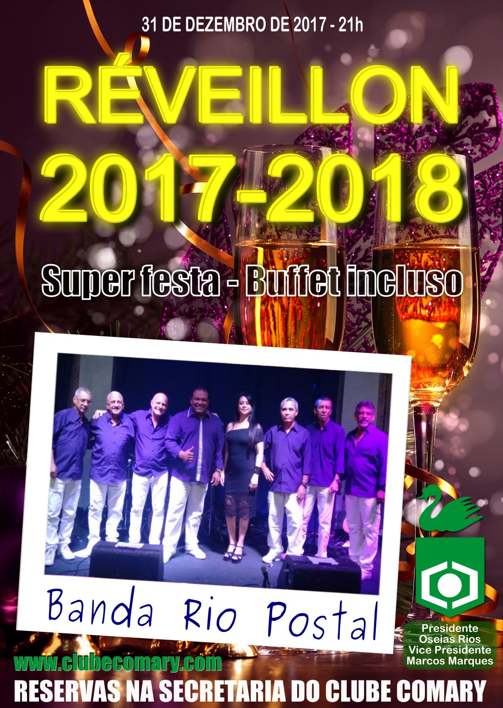 reveillon comary 2017-2018cartaz